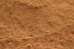 Sawdust. Pile of sawdust closeup for background Royalty Free Stock Photo