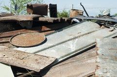 Pile of scrap iron Royalty Free Stock Photo
