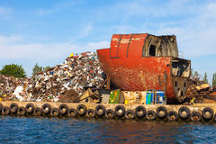 Pile of scrap metal Stock Photography