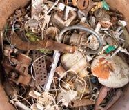 Pile scrap Royalty Free Stock Photo