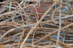 Pile scrap. In the trash Stock Photo