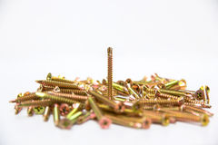 Pile of screw Stock Images