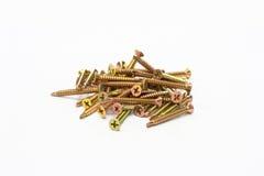 Pile of screw Royalty Free Stock Photo