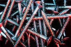 Pile of Screws Royalty Free Stock Photography