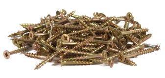 Pile of screws Stock Photos