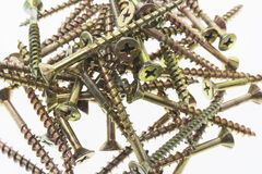 Pile of Screws Stock Image