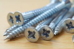 Pile of screws Stock Photography
