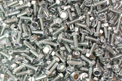 A pile of screws Royalty Free Stock Photos