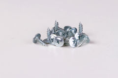 Pile of screws metal products Stock Photography