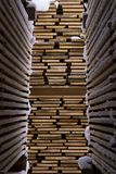 Pile of shelves Royalty Free Stock Images