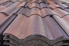 Pile of shingles royalty free stock images