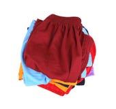 Pile of shorts Royalty Free Stock Photos