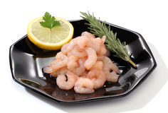 Pile of shrimps Stock Photos
