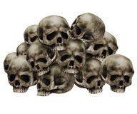 Pile of skulls Stock Photo