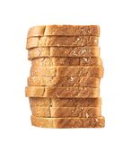 Pile of the sliced bread toasts Stock Photography