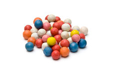 Pile of small colorful ball shaped Royalty Free Stock Photos