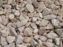 Pile of small stones. Pile of grey small stones stock photo