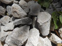 Pile of small stones royalty free stock image