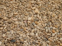 Pile of small stones. Pile of various small stones royalty free stock images