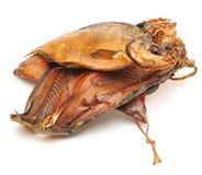 Pile smoked fish Stock Image