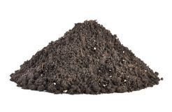 Pile of soil Stock Photos