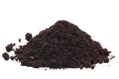 Pile of soil Royalty Free Stock Image