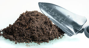 Pile of soil Stock Images