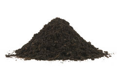 Pile of soil humus Royalty Free Stock Image