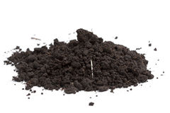 A pile of soil Stock Image