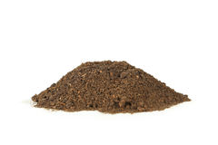 Pile of soil Royalty Free Stock Images