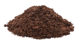 Pile of soil for plant Stock Photo