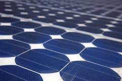 Pile solaire Images libres de droits