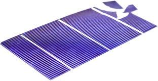 Pile solari rotte Immagini Stock