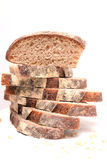 Pile of sourdough bread slices Stock Image