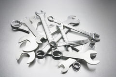 Pile of Spanners Stock Photos