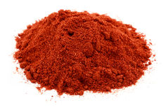 A pile of the spice paprika Stock Photo