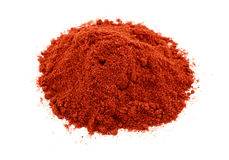 A pile of the spice paprika Royalty Free Stock Photos
