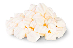 Pile The Spiral Marshmallows Royalty Free Stock Photography
