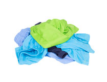Pile of Sport shorts on a white Royalty Free Stock Photos