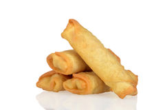 Pile of spring rolls Royalty Free Stock Image
