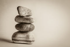 Pile of stacked up stones Royalty Free Stock Photo