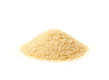 Pile of stevia cane sugar Royalty Free Stock Photography
