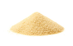 Pile of stevia cane sugar Stock Photography