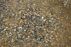 Pile stone and dry soil Royalty Free Stock Images