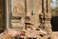 Pile of stone Royalty Free Stock Photo
