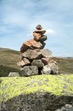 Pile of stones Stock Images