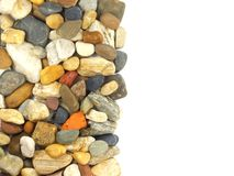 Pile of stones with copy space Royalty Free Stock Image