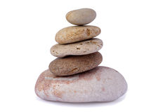 Pile of stones Royalty Free Stock Images