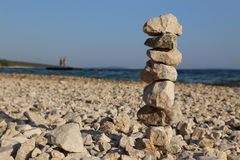 Pile of stones Stock Image