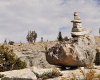 Pile of stones in Yosemite National Park. Pile of stones  in Yosemite National Park, California, USA Stock Image